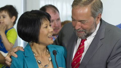 Olivia Chow launches federal comeback in new Toronto riding