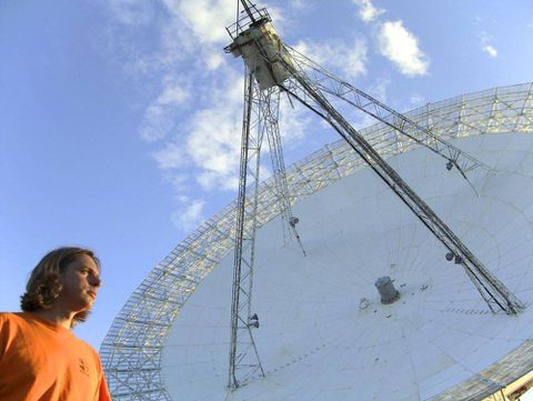 Canada's largest radio dish finds life after decades of dormancy
