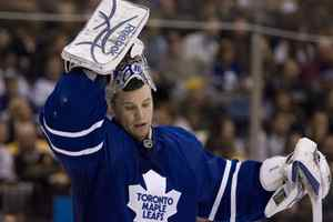 Former Toronto Maple Leafs goaltender Justin Pogge has been promoted to the Anaheim Ducks from their East Coast Hockey League affiliate.