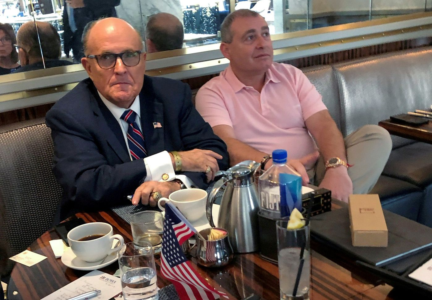 Trump lawyer Rudy Giuliani was paid $500,000 to consult on indicted associate's firm