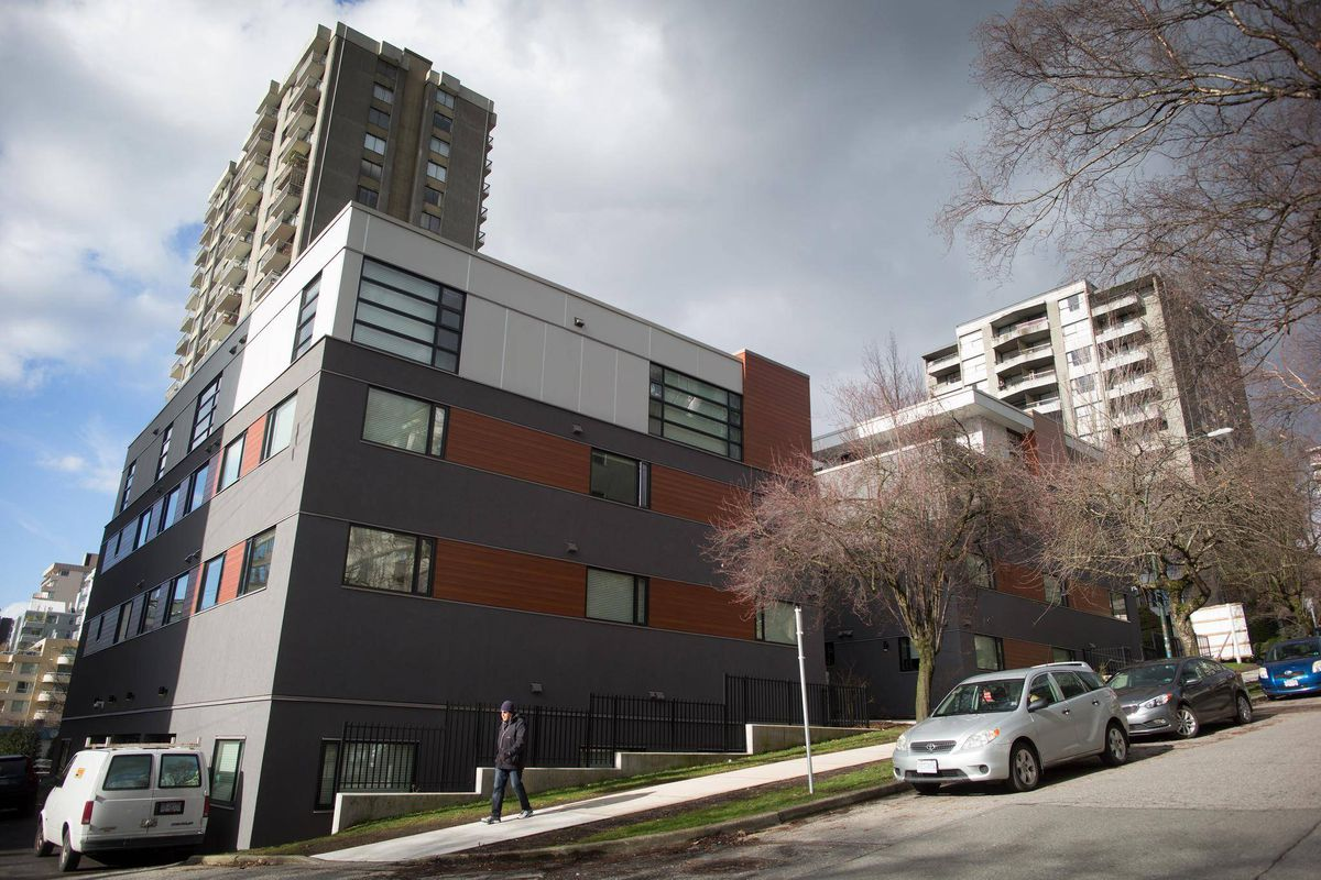 small old apartment building. THE GLOBE AND MAIL Vancouver mulls letting landlords add floors to old apartment