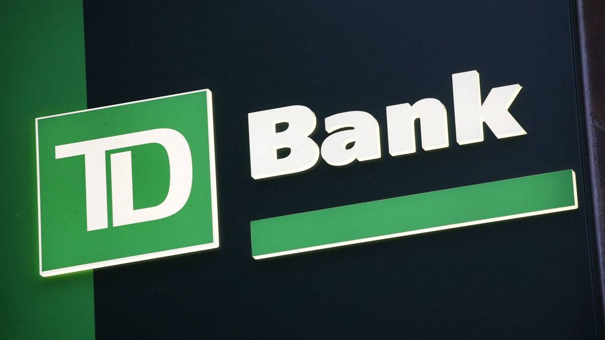 A sign for TD Bank in New York.
