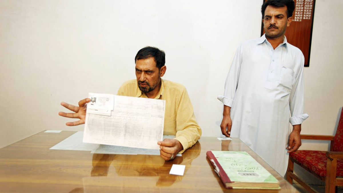 Ashiq Hussein, chief of investigations at the Nawanshehr Station House, responsible for the neighbourhood where Osama bin Laden was found, said his men had implemented a 'foolproof' record-keeping system to track all newcomers to the area.