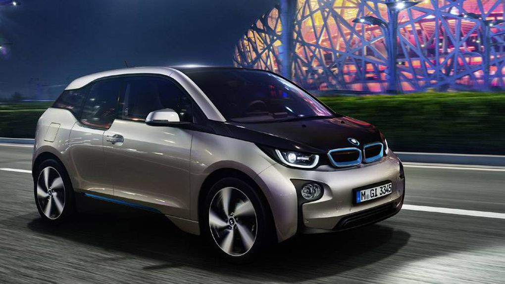 In Pictures What Bmw S First Electric Car Will Look Like The