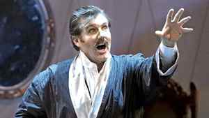 """James Westman as Sandy Keith in Calgary Opera's """"The Inventor"""""""