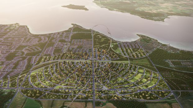 The suburb of the future: Innisfil's radical plan for a town built around transit, cycling and walking