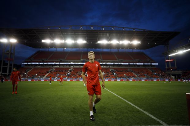 Liam Fraser bides his time with Toronto FC but believes he is ready for more
