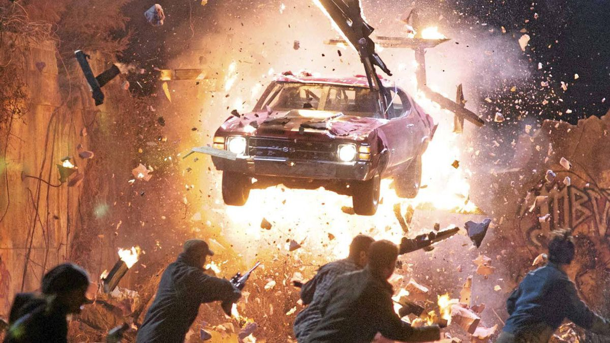 """A not untypical scene from """"Drive Angry 3D"""""""