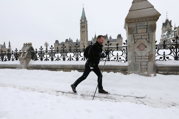 In This Brutal Winter Architecture Gets >> In A February Of Cross Canada Winter Woes Ottawa Gets The Gold