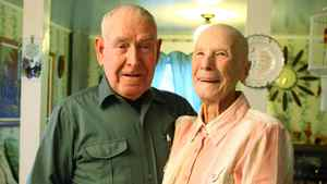 Allen and Violet Large at their home in Lower Truro, N.S. Paul Darrow for the Globe and Mail