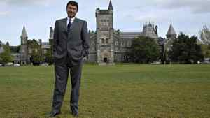 David Naylor, President of the University of Toronto.