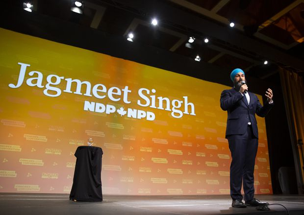Jagmeet Singh rolls out promise-heavy NDP platform for fall federal