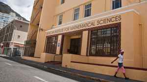 The African Institute for Mathematical Sciences began in 2003 in Muizenberg, South Africa, a town near Cape Town that is famous for its surfing beaches. Students from around Africa live in dorms at the institute, located in a building that once was a hotel.