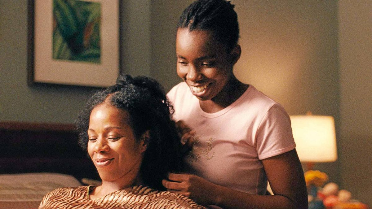 """Kim Wayans, left, and Adepero Oduye in a scene from """"Pariah."""""""