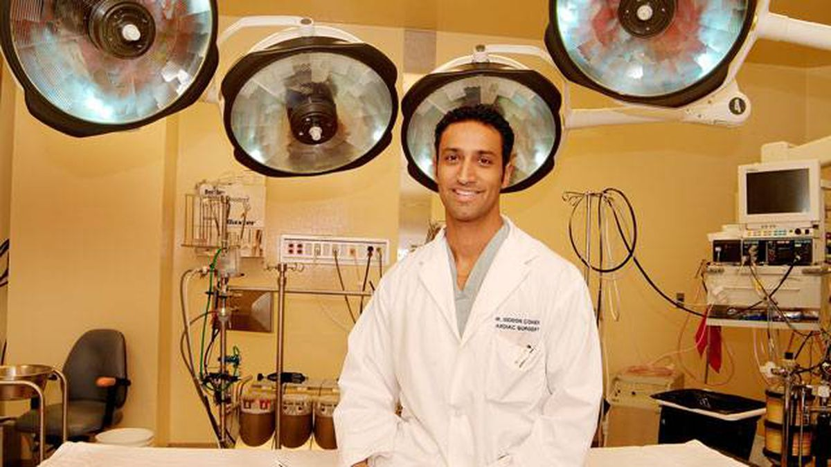 Dr. Gideon Cohen, cardiac surgeon, Schulich Heart Centre