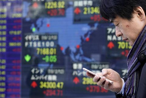 Japan Nikkei falls to four-month low on stronger yen