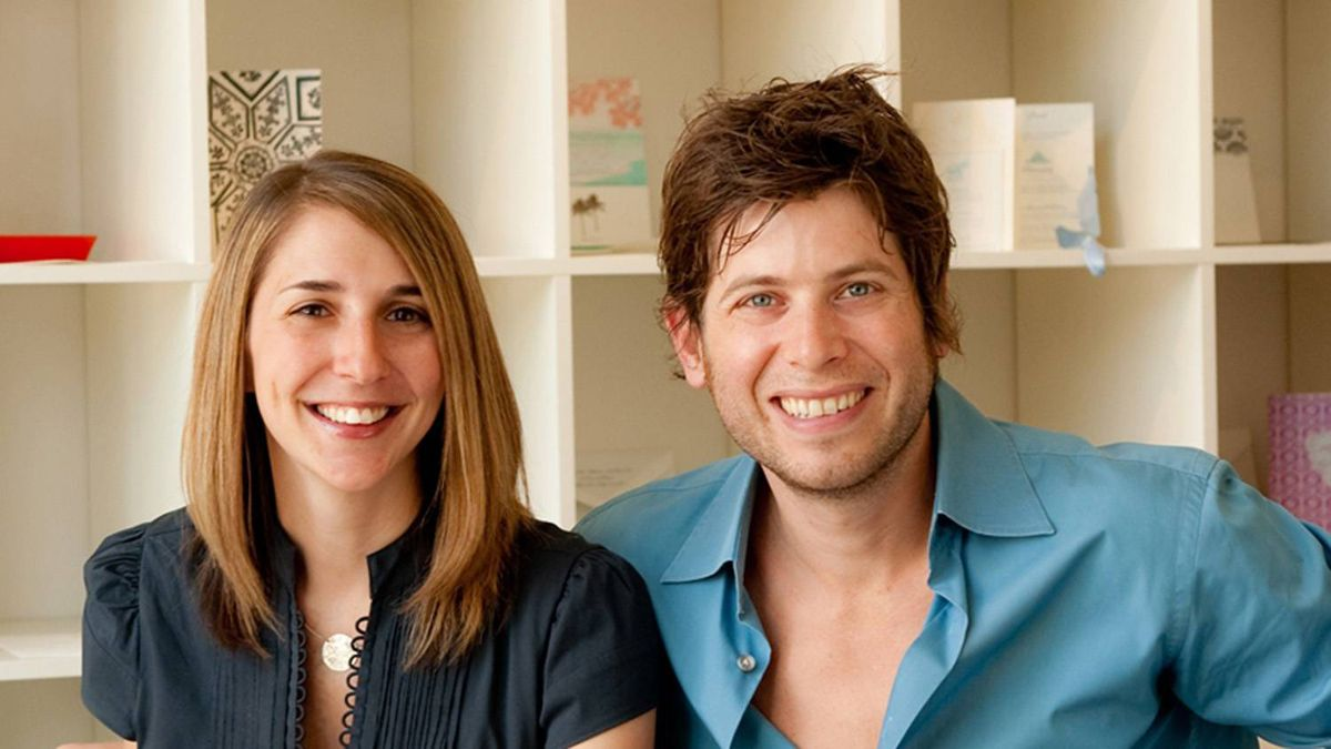 Tara and Matt Soloway, co-founders of LUXE wedding destinations