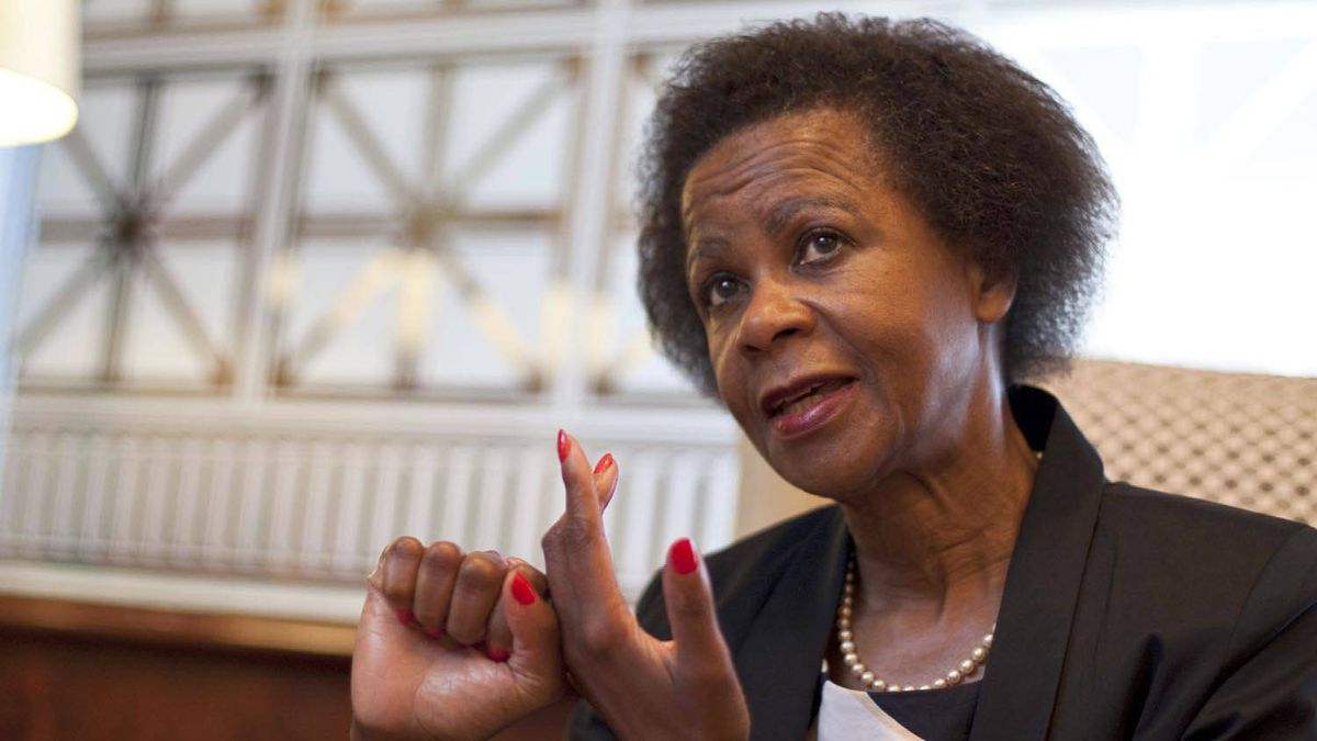 South African businesswoman Mamphela Ramphele, who grew up in a rural village under apartheid, has become an outspoken advocate of philanthropy in Africa.