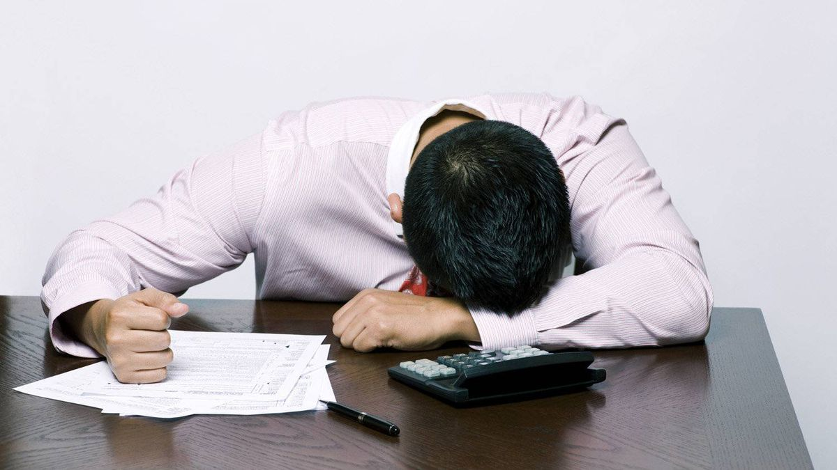 Anxiety around tax time is normal, experts say. Breaking the job into small tasks can help.