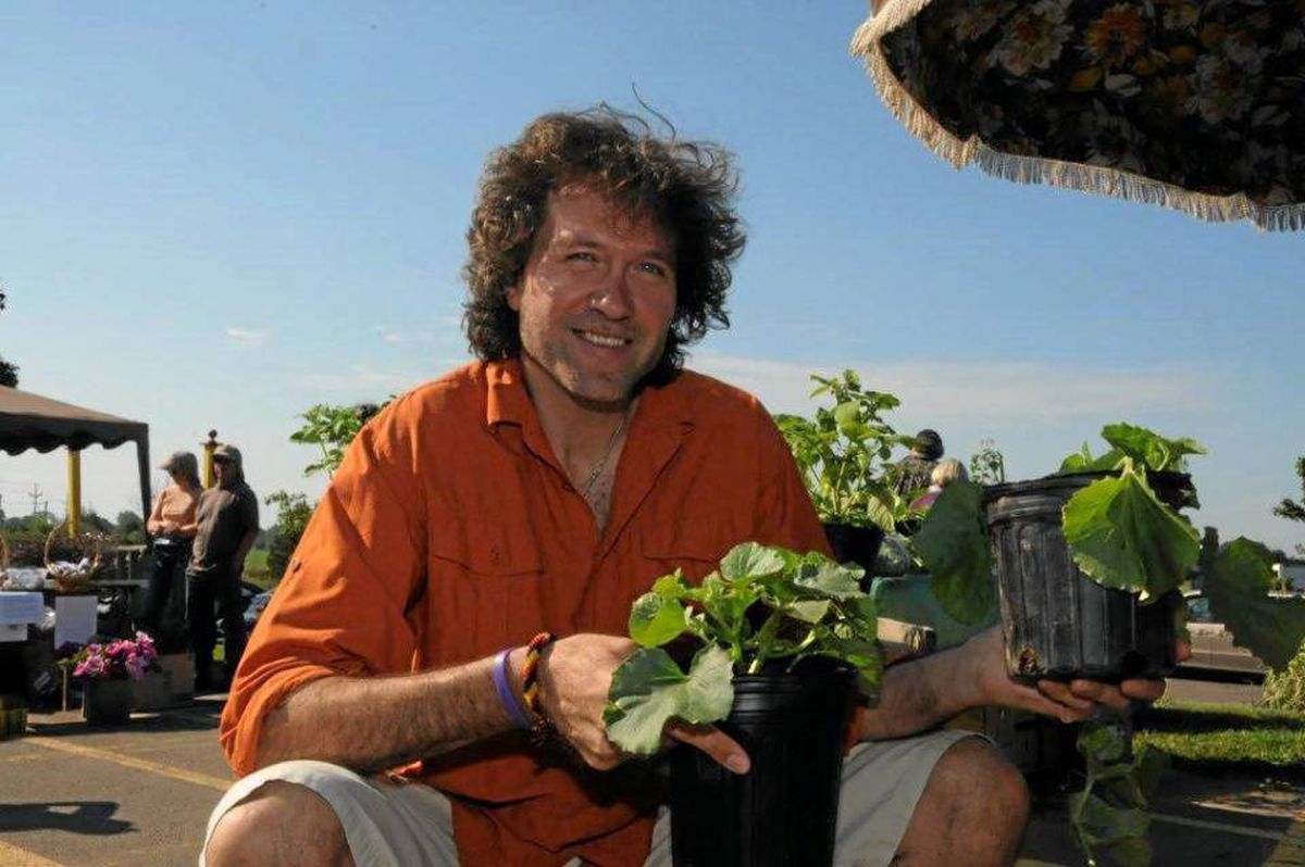 Chef Michael Smith in PEI, where seven new farmers markets have debuted in recent years.