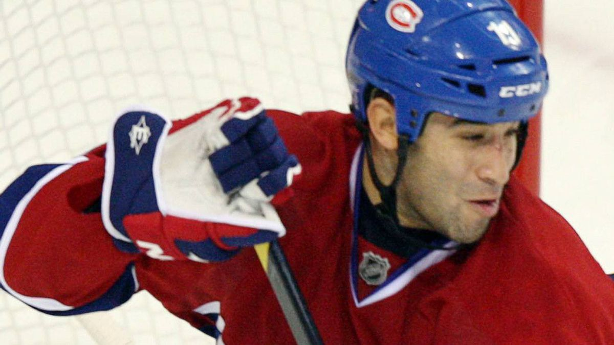 Montreal Canadiens centre Scott Gomez. THE CANADIAN PRESS/Ryan Remiorz