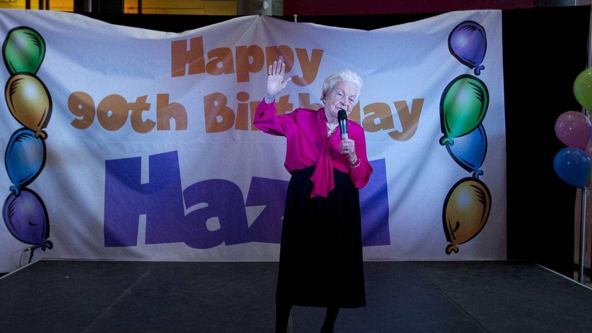 Ms. McCallion celebrates her 90th birthday at the Living Arts Centre in Mississauga on Sunday, February 13, 2011.