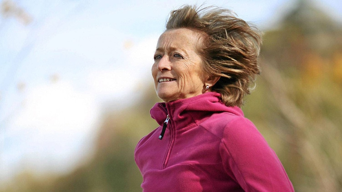 October 20, 2010: Supreme Court of Canada Justice Marie Deschamps jogs along the Ottawa River in Ottawa.