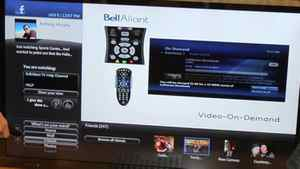 Bell Aliant shows the Facebook App on FibreOP TV
