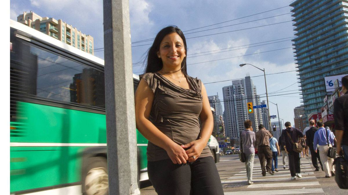 Zuleika Sgro, human resources recruiter at Questrade in Toronto, said the brokerage develops its own programs and also turns to other organizations to help meet foreign-born workers' needs.