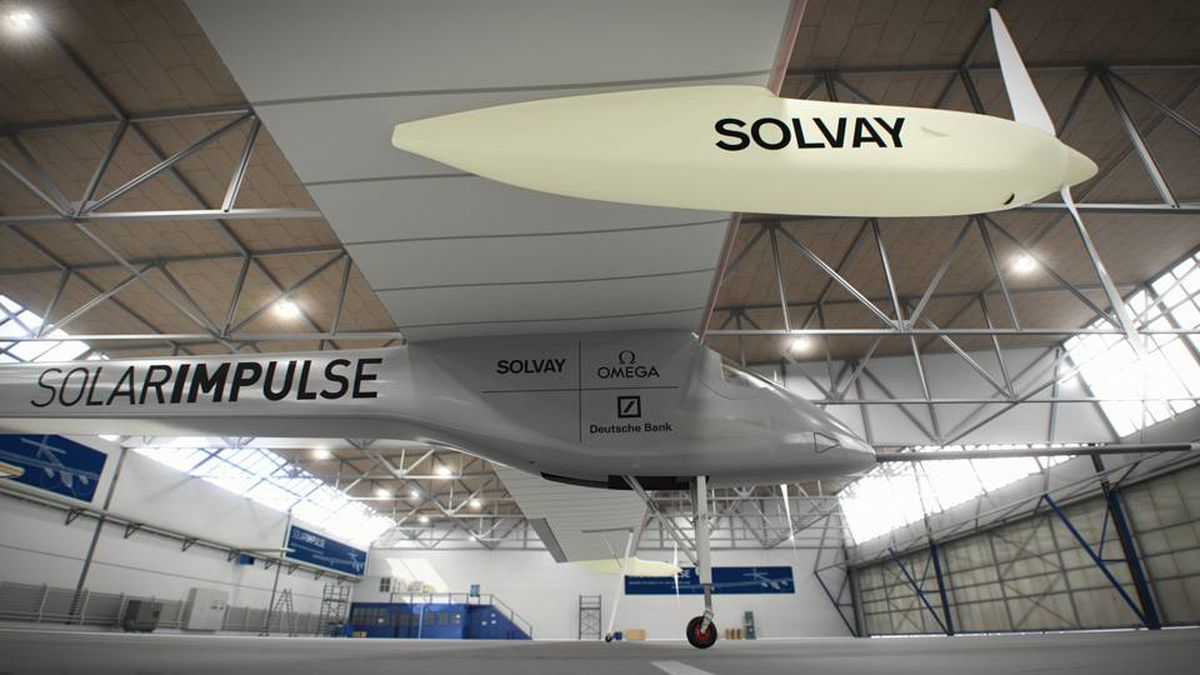 The creators of the Solar Impulse hope to make a solar-powered flight around the world by 2013.