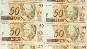 Brazil 50 real notes. Vinicius Ramalho Tupinamba/iStockphoto
