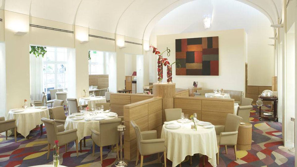 Restaurant Patrick Guilbaud at the Merrion Hotel is Dublin's only two-star Michelin dining destination.