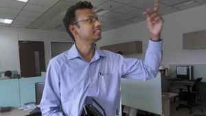 Cutline: Ajit Narayan, CEO of Invention Labs in Chennai, India Credit: Courtesy of Invention Labs
