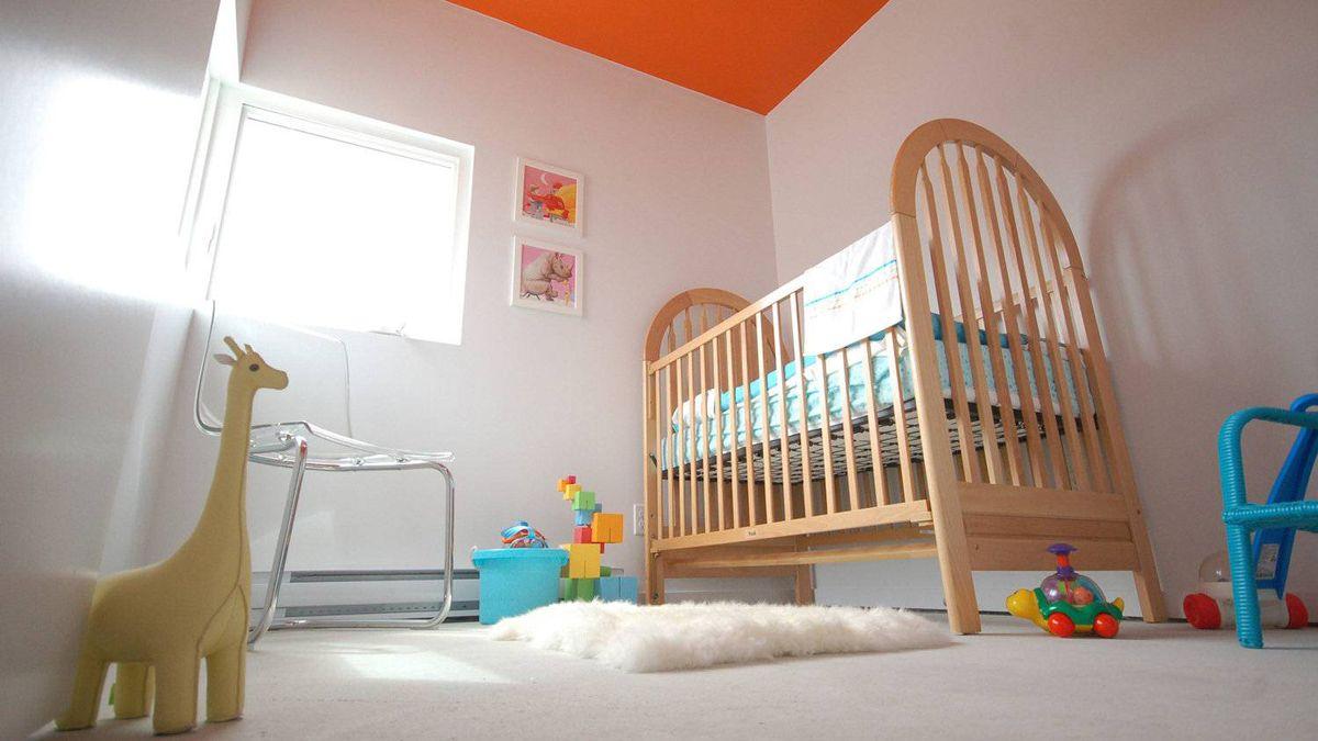 Centre Village, baby's room.