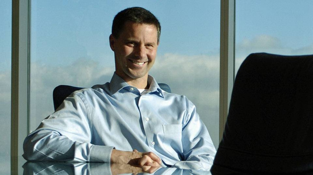 Nigel Wright, shown in December of 2004, is leaving Onex Corp. for the Prime Minister's Office.