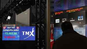 TMX Group operates the Toronto Stock Exchange. Maple Group is expected to extend its offer for TMX today.