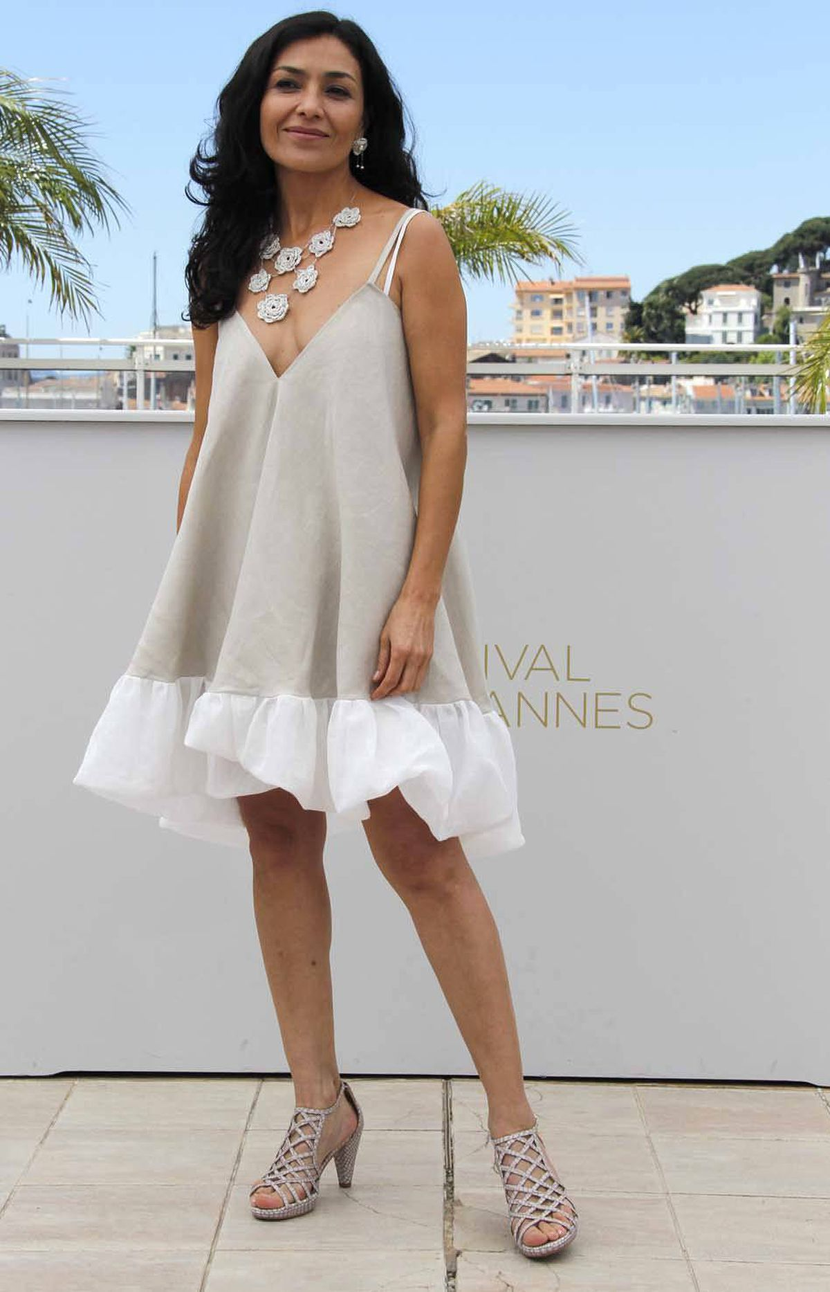 Mexican actress Dolores Heredia at the Cannes Film Festival on Tuesday.