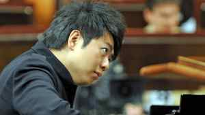 Chinese pianist Lang Lang rehearses for his concert for the inauguration of year-long bicentenary celebrations of the birth of composer Frederic Chopin, on January 7, 2010 in Warsaw.