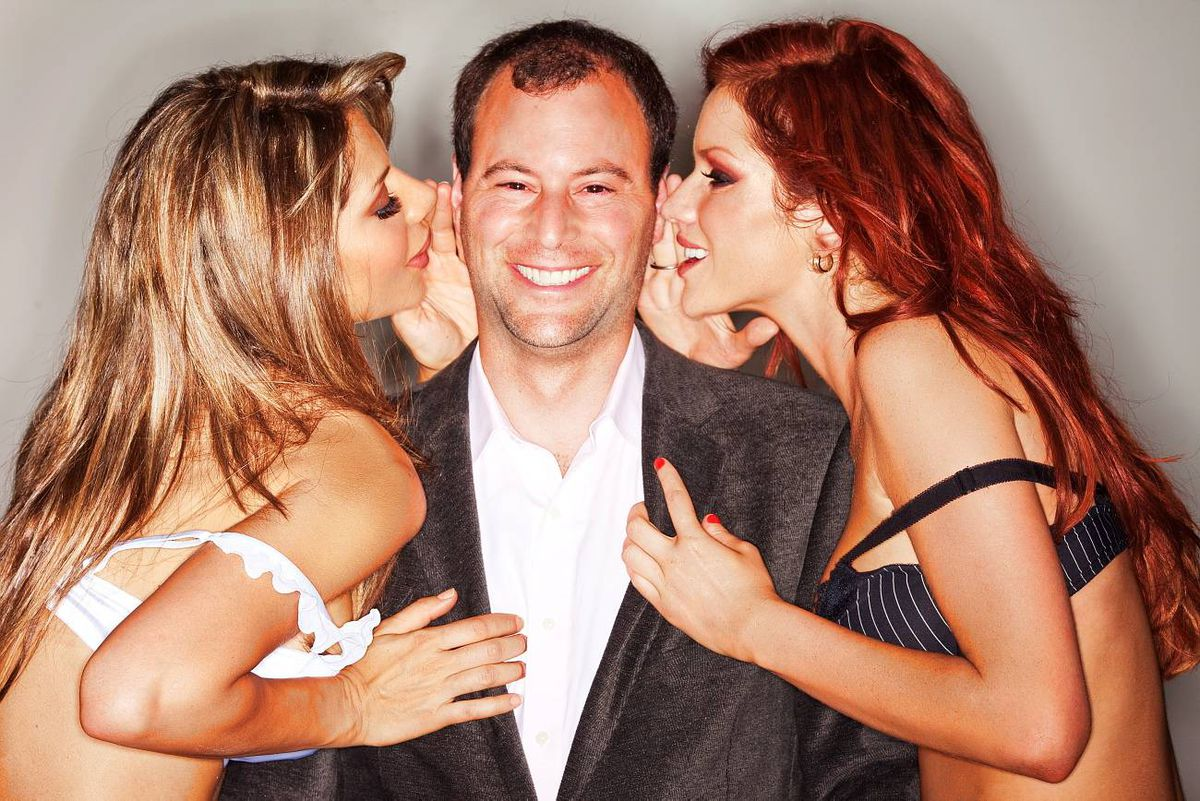 Noel Biderman knows how to sell his brand: his AshleyMadison website currently boasts more than 4.5 million aspiring cheaters. He's not one of them, of course.