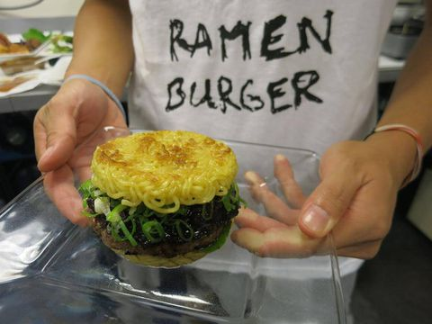 Forget about the Cronut. The Ramen Burger is the latest decadent food sensation