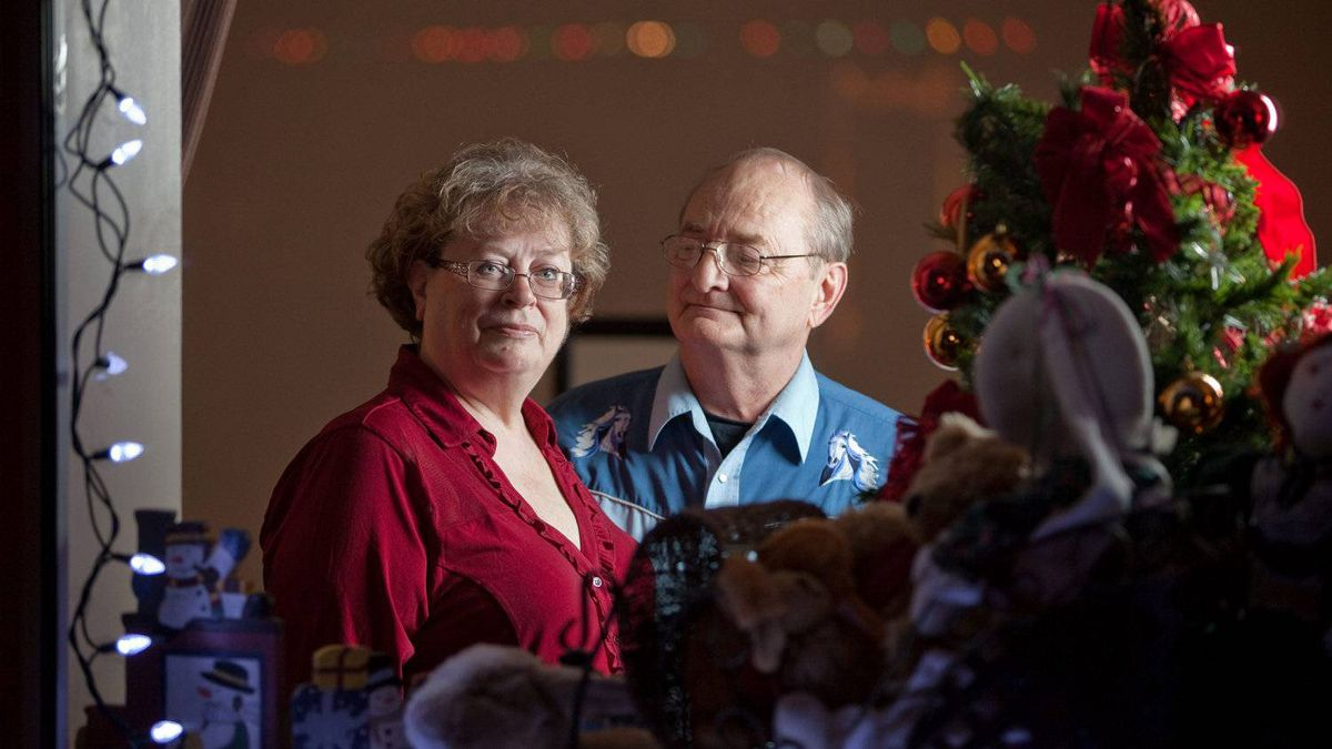 Jim and Linda Finkbeiner: Jim suffers from early-stage Alzheimer's and he and Linda, his primary caregiver, do what they can to minimize the additional stresses on Jim's condition that the holiday season can create.