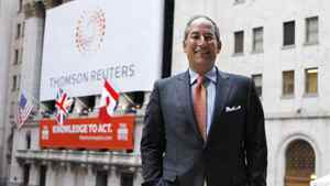 File photo of former Thomson Reuters CEO Tom Glocer.