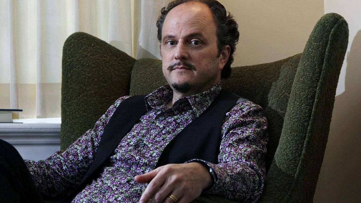 In this Sept. 26, 2011 photo, Pulitzer Prize winning author Jeffrey Eugenides poses at his home in Princeton, N.J.