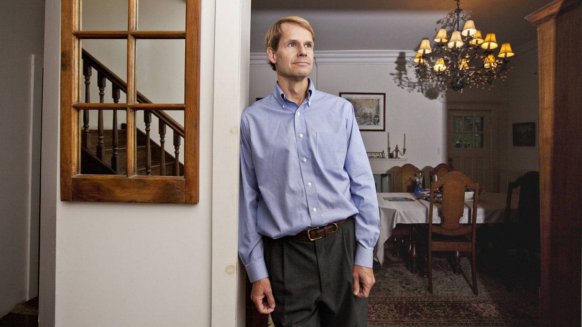 Greg Thomson, director of research at Charity Intelligence poses for a photo in his Toronto home on October 28, 2011. He explains that charities do need to be more accountable.