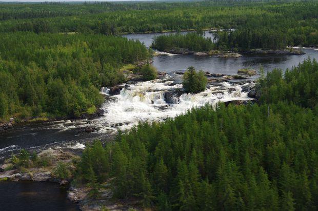 Anishinaabe territory straddling Manitoba and Ontario named