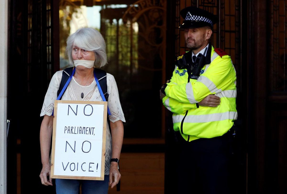 British government insists suspension of Parliament was not illegal - The Globe and Mail