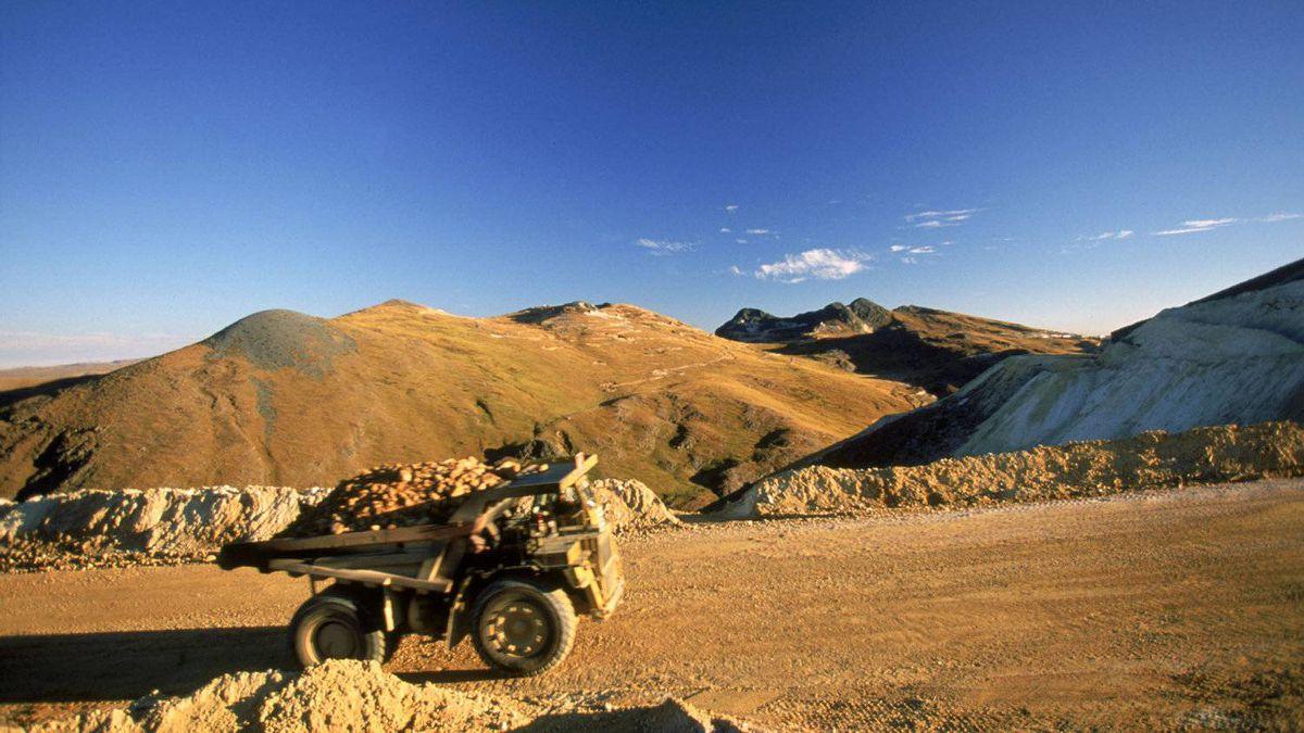 Newmont Mining's Yanacocha mine in Peru