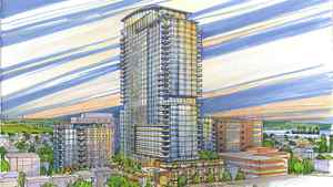 A rendering of the proposed changes to Fenwick Tower in Halifax