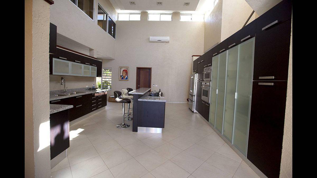 Interior of Mr. Khawly's Jacmel home.