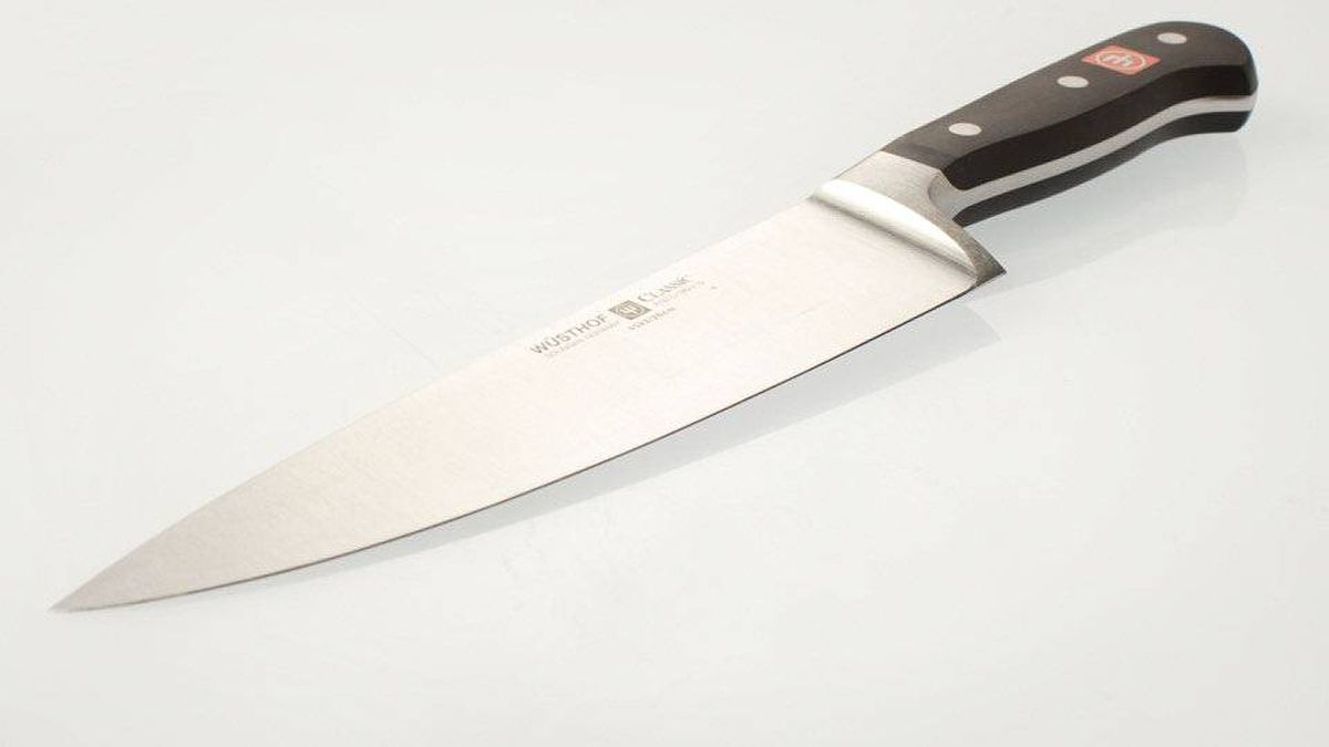A high-quality eight-inch chef's knife should be your kitchen workhorse. They're made for slicing, dicing, chopping, mincing and carving. The best ones are made from a single piece of high-carbon steel that extends from the knife's tip to the end of the handle.